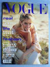 Vogue Magazine - 1991 - January